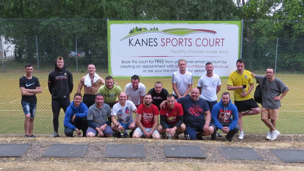 Sports Court Opening
